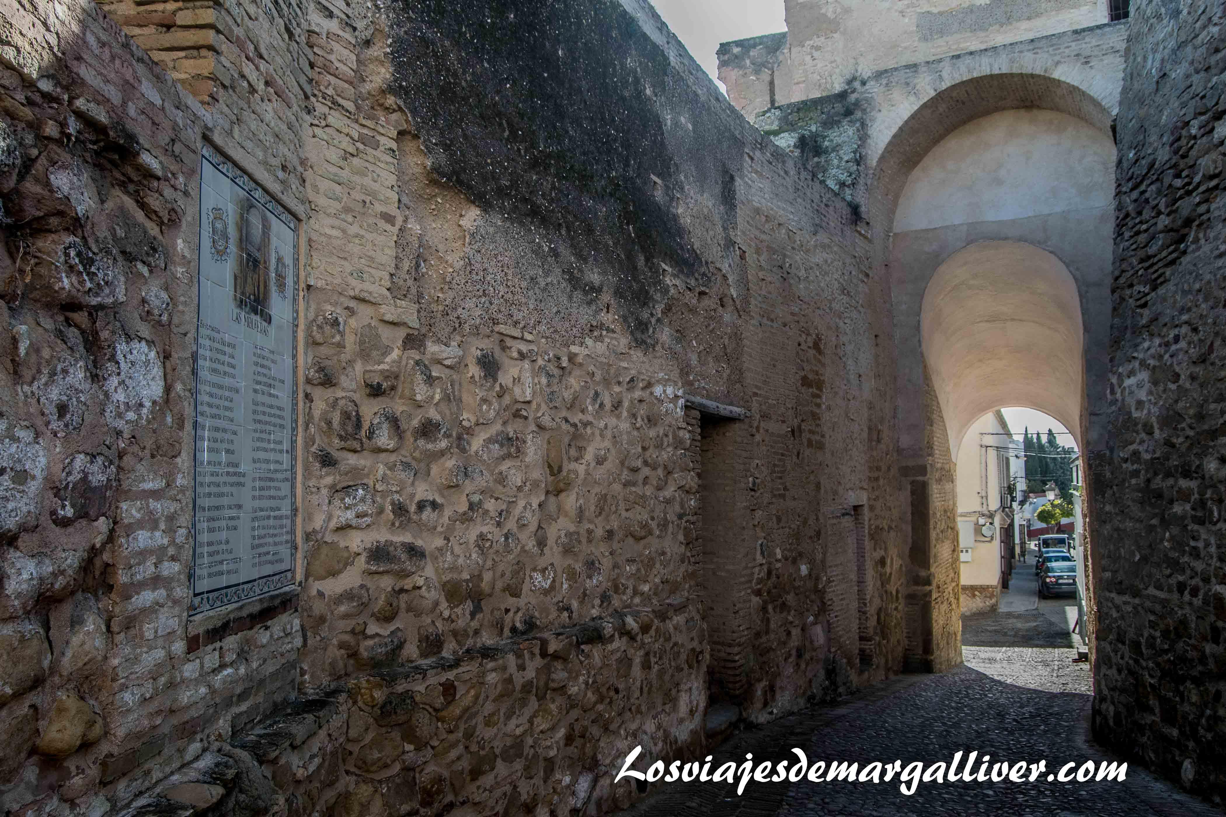 Puerta de Tiro en Marchena, a una hora de -Los viajes de Margalliver